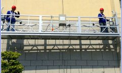 2 x 1,8 kw Suspentsi aldamioak Single Phase Suspensed Plataforma Cradle ZLP800