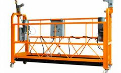 Electric Suspended Scaffold Platform, Aluminum Alloy Aerial Work Platform